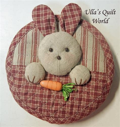 Patchwork Rabbit Pattern - ulla s quilt world quilted rabbit pouch 2 japanese
