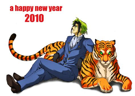 new year tiger nougami neuro 561231 zerochan