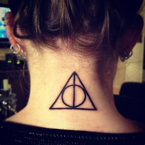 deathly hollows tattoo deathly hollows harry potter