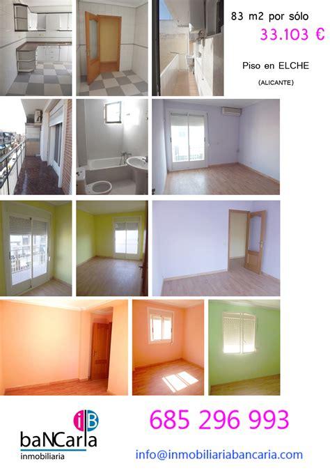 pisos de banco en alicante piso de banco en elche 33 103 y 83 m2 embargo en