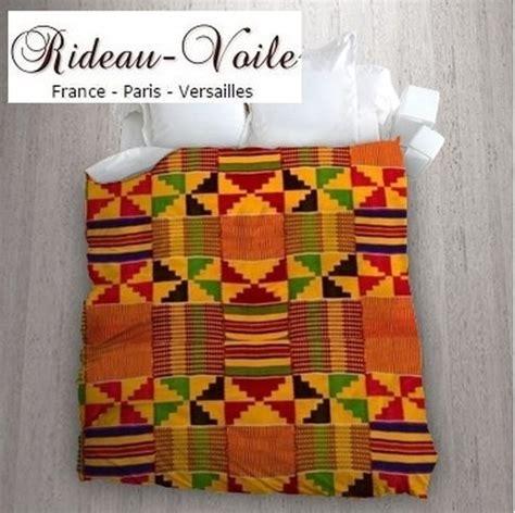 Housse De Couette Africaine by Tissu Couette Motif Wax Africain Rideaux Et Tissus