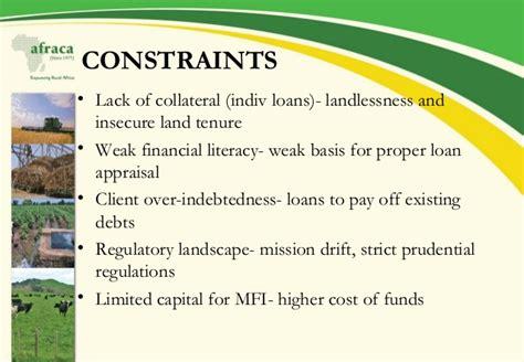 African Rural and Agricultural Credit Association (AFRACA) Presentati