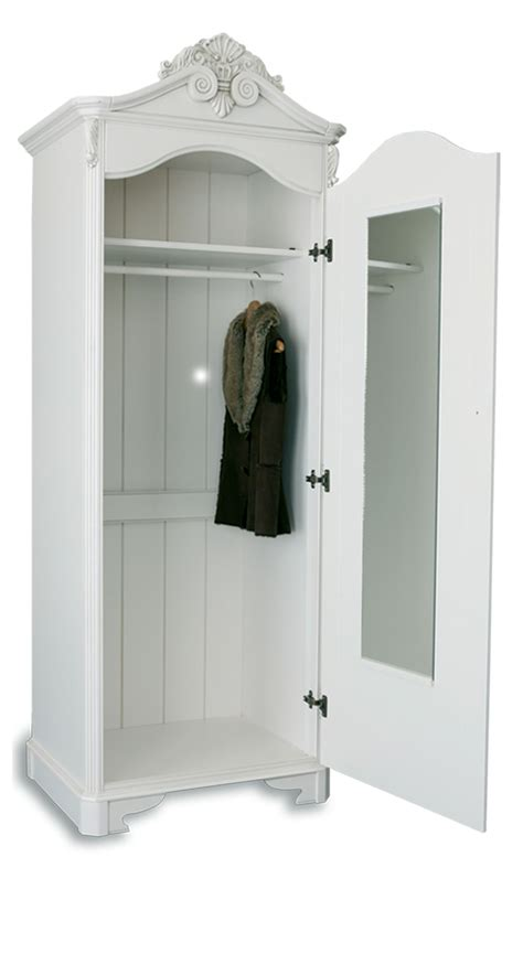 Single White Wardrobe Furniture For Modern Living Furniture For Modern Living