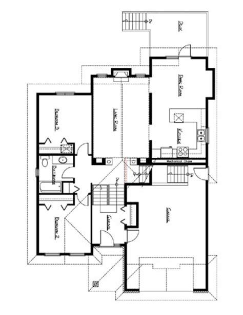 bi level house plans northern home design bi level house plan the saxon