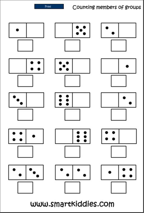 interactive pattern activities for reception recognizing a dot pattern mathematics skills online