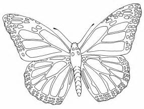 Monarch Butterfly Outline by Butterfly Outline Outlines
