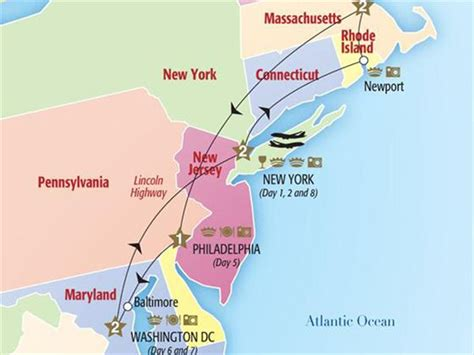 map us east coast major cities 2 cities of the east coast new york new york state