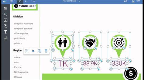 Cognos Analytics Infographic Dashboard Youtube Cognos Dashboard Templates