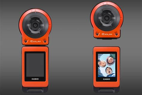 New Casio Exilim Cosies Up To Technology by Exilim Ex Fr10 Casio S New Is A Gopro For Selfie