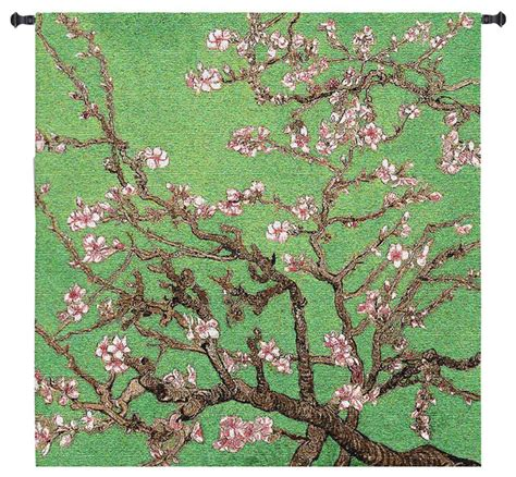 asian tapestry cherry blossom wall tapestry asian tapestries by