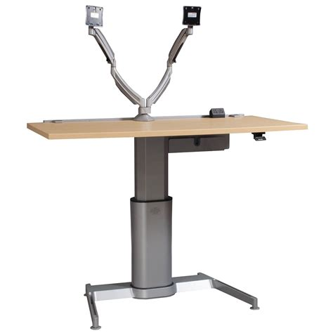 Steelcase Used Adjustable Height Table Maple National Used Adjustable Height Desk