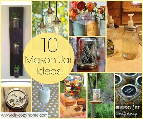 10 jar ideas and diy tutorials crafts