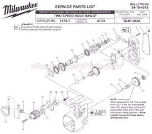 milwaukee 1675 1 parts list and diagram ser 413d ereplacementparts