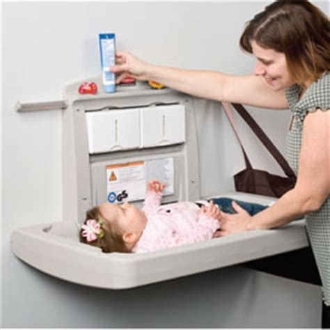 Baby Change Table Commercial Rubbermaid Commercial Products Washroom Restroom Equipment Supplies Catalog New York