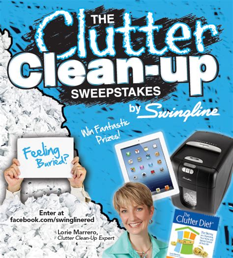 packrat to clutter free how i cleaned up my in less than a year books don t waste time the clutter clean up sweepstakes starts