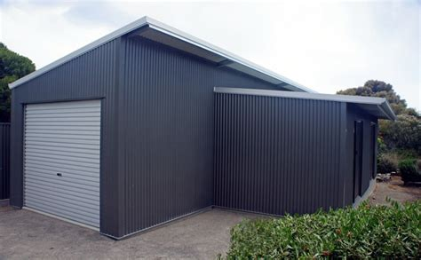 Skillion Roof Sheds by Skillion Lean To Sheds Garages By Shed Fleurieu