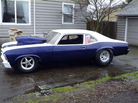 1969 nova drag racing 1969 nova prostreet or drag project car exp 7 50 cert