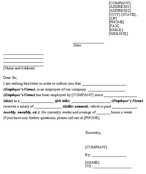 Authorization Letter Haad letter of necessity form printable sle letter of employment verification form best