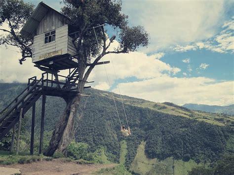la casa del arbol swing the crazy swing at casa del arbol fubiz media