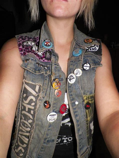 diy punk vest  vest waistcoat art  sewing  cut