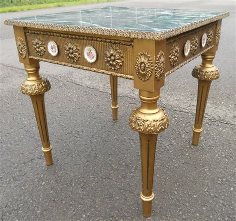 antique style coffee table antique style gilt coffee table