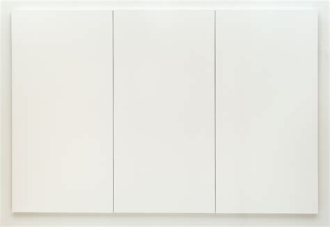 robert rauschenberg white painting three panel 1951