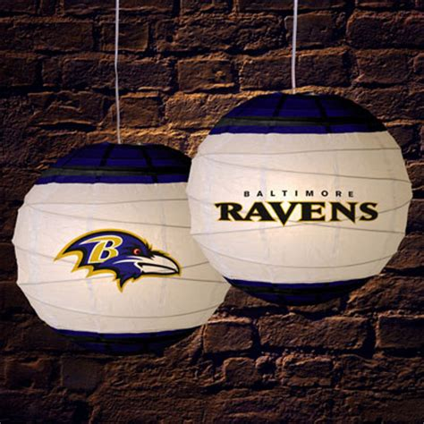 baltimore ravens l shade baltimore ravens nfl 18 quot rice paper l