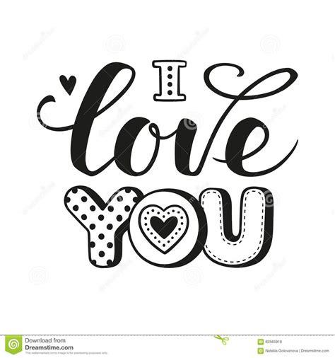 imagenes de letras goticas que digan te amo te amo letras caligr 225 ficas ilustraci 243 n del vector