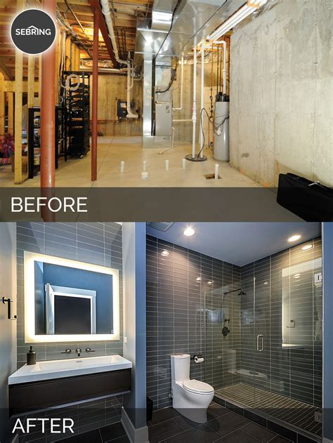 basement remodeling ideas before and sidd nisha s basement before after pictures home