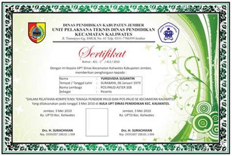 contoh sertifikat contoh sertifikat mellidotorg