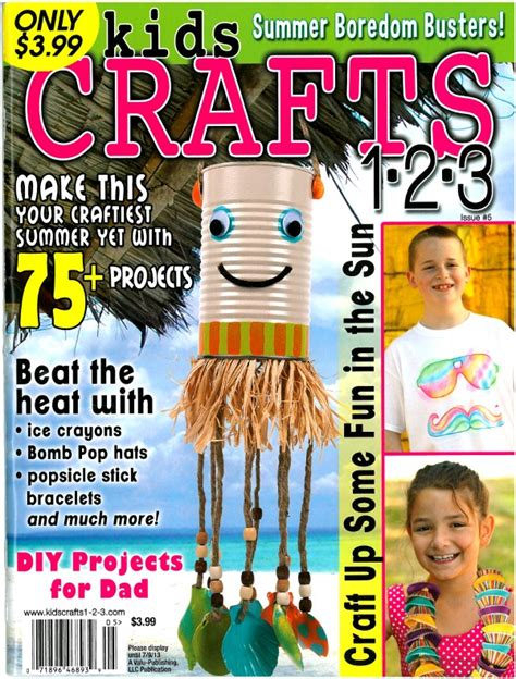 craft magazine for the sitcom is featured in crafts 1 2 3 magazine