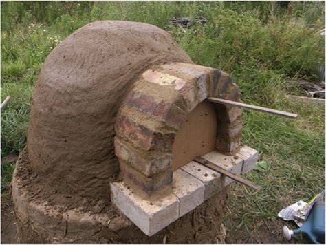 diy pizza oven step by step diy brick pizza oven ideas