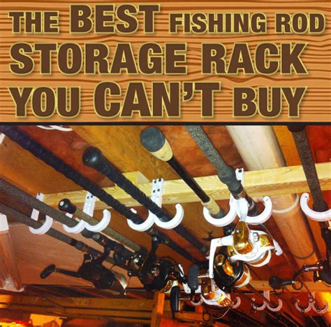 diy fishing pole ceiling rack plans plans free