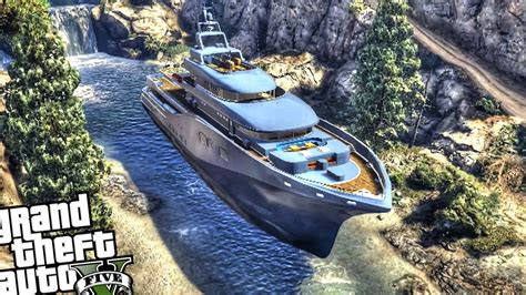find boats online epic drivable yacht gta 5 mod youtube