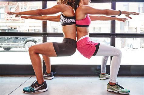 big booty squat challenge 30 day squat challenge popsugar fitness