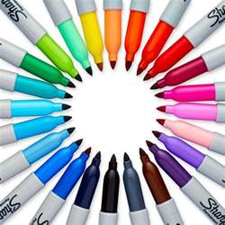 colorful sharpies sharpie color burst permanent markers