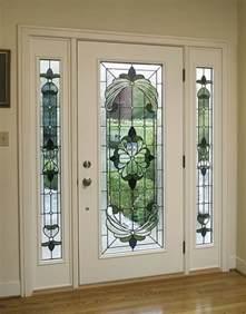 Glass For Exterior Doors Steel And Fiberglass Entry Doors Inside View Glass Entry Door W Side Lites