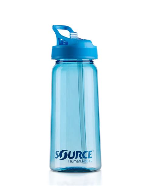 New Tritan 2 Blue tritan bottle 0 5l light blue source gourdes snowleader