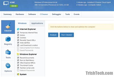 ccleaner cloud login remotely clean and manager pc with ccleaner cloud