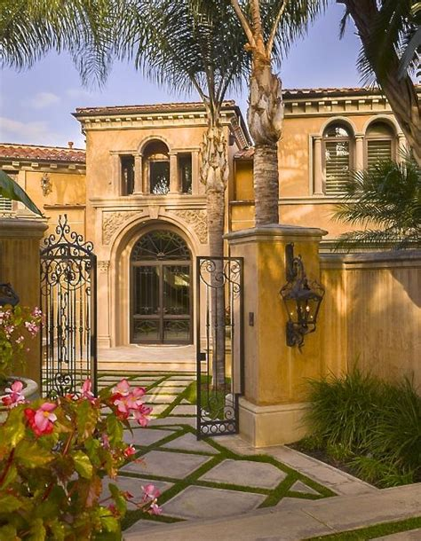 mediterranean homes mediterranean with charming iron gated entry courtyard
