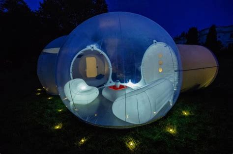 bubble bedroom living in a bubble the luxury interior designed pod