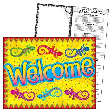 trend enterprises templates gecko welcome learning chart trendenterprises