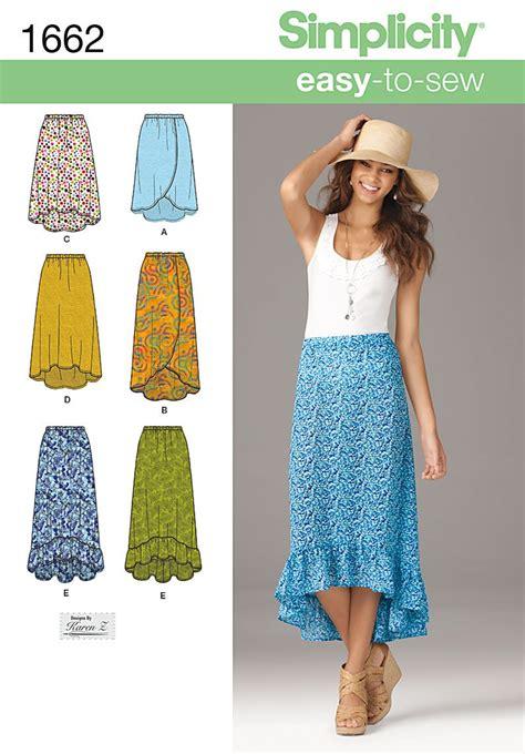 skirt pattern waist ease linen shorter style ruffle all around hem into waist