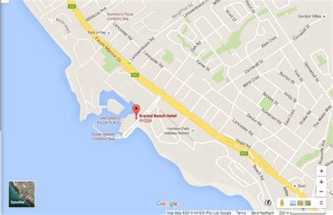 krystal beach hotel gordons bay south africa
