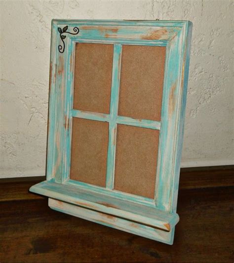 shabby chic window picture frame