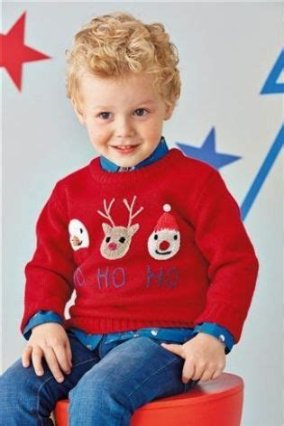 waitrose child christmas jumper ho ho ho child s novelty jumper children s jumpers jumpers
