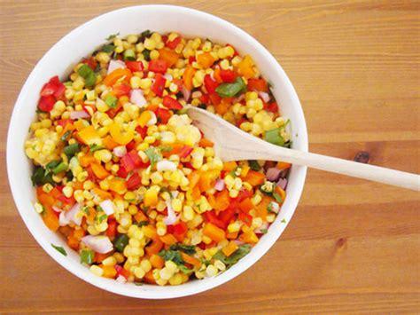 easy salad recipe best easy corn salad recipes easy corn salad recipe