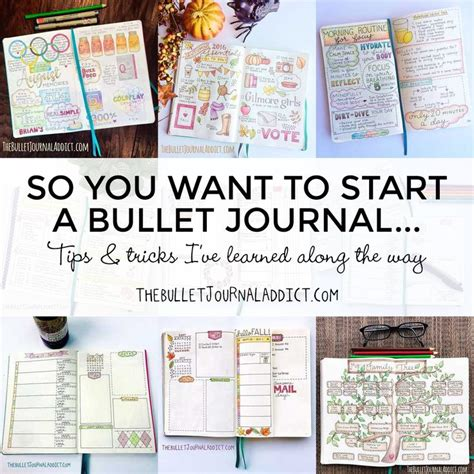 25 unique dotted bullet journal ideas on