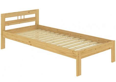 bett massivholz 100x200 einzelbett kiefer natur massivholz 100x200 futonbett