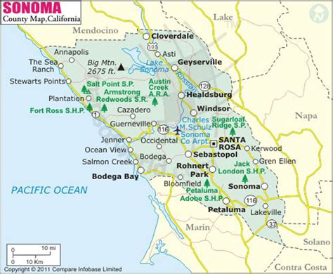 Southern Living Plans by Sonoma County Map Map Of Sonoma County California